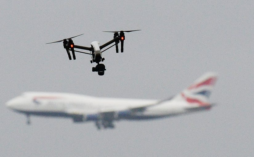 Come Silent Winged Sleep? Come Non-Existent Gatwick Airport Drone …?